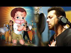 OMG! Salman Khan DUBS For Lord Hanuman | HANUMAN DA DUMDAR - YouTube