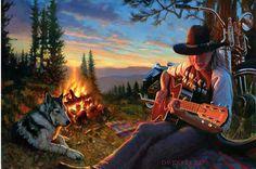 Official Website of Fine Artist David Uhl. Collections include motorcycle art, aviation art, automotive art, pin-up art. Motorcycle Posters, Motorcycle Art, Cowboy History, David Mann Art, Harley Davidson Art, Cowboy Art, Guitar Art, Easy Rider, Automotive Art