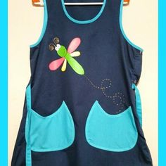 Imagem relacionada Apron, Sewing, How To Make, Crafts, Pinafore Apron, Kids Fashion, Gowns, Scrappy Quilts, Cute Aprons