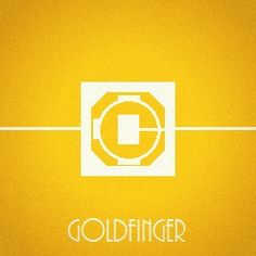 003 Goldfinger by bebespectacled, via Flickr