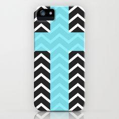 Trendies III iPhone & iPod Case by Rain Carnival - $35.00 #iphone #samsung #mobile #case #skin #mint #summer #chevron