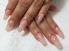 long acrylic nails coffin - Google Search