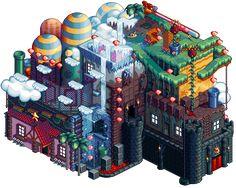 Platformer House Pixel Artist: bugpixel Source: bugpixel.com
