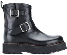 R 13 single stack engineer boots Engineer Boots, Pull On Boots, Black Leather Boots, Low Heels, Ankle Length, Engineering, Women Wear, Product Launch, Pure Products