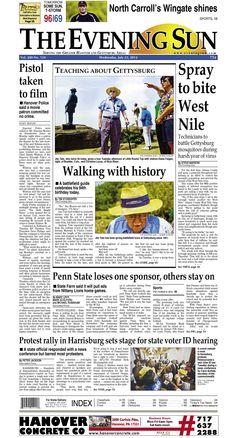 The Evening Sun, Wednesday, July 25, 2012