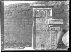 Ruins in Amarna, Egypt (1926).