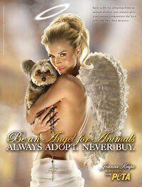Joanna Krupa est un «ange pour les animaux» | PETA
