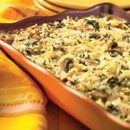 Smoked Gouda & Spinach Rice Casserole | Supreme Rice