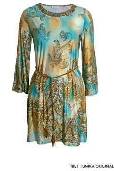 Tibet Tunika Original von KD Klaus Dilkrath #kdklausdilkrath #tibet #kd12 #kd #tunika #shirt #dress #orginal #paisley #vacation #spring #march #pearls #kdklausdilkrath #kd #dilkrath #kd12 #outfit