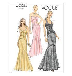 V8288  Misses' Dress