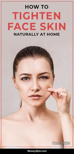 How to Tighten Face Skin Naturally at Home? Aging gracefully is not everyone's cup of tea. Unless you are blessed with gorgeous skin, you need to make extra efforts to take care of your facial skin. Face Tightening, Blessed, Face Tips, Sagging Skin, Oils For Skin, Facial Skin Care, Face Skin, Good Skin, Beauty Skin