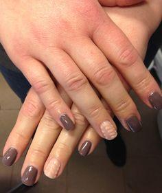 Manicure hybrydowy ze zdobieniem - Mollon PRO