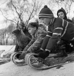 Les hivers d'autrefois.
