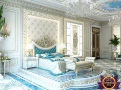 Master Bedroom In Dubai Design Ideas Photo 5