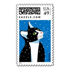 Cat Stare Stamps