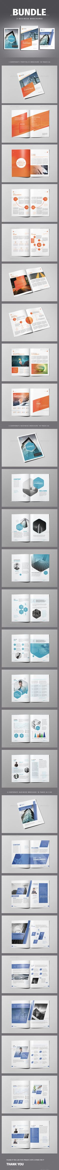 Brochure A4 Template InDesign INDD Bundle. Download here: http://graphicriver.net/item/brochure-a4-bundle-templates-for-indesign/14841946?ref=ksioks