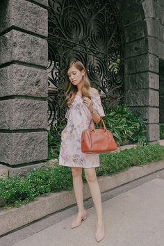 Get this look: http://lb.nu/look/8419005  More looks by Tricia Gosingtian: http://lb.nu/tgosingtian  Items in this look:  Plains And Prints Dress, Zara Shoes, Coach Bag, Casio Watch   #casual #classic #romantic