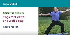 New Video: Scientific Results—Yoga for Health and Well-Being