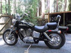 2005 Honda SHADOW SPIRIT 1100 Cruiser , Black, 4,250 miles for sale in Cazadero, CA
