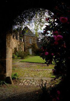 Kerdalo's garden. Bretagne, France.