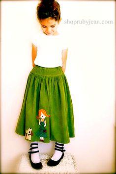 Story Book Skirt