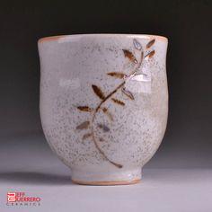 Shino Yunomi by guerrero.ceramics, via Flickr