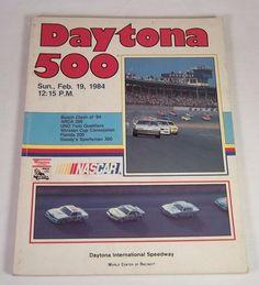 NASCAR Daytona 500 Program / Yearbook - Cale Yarborough Win - Feb. 19, 1984 #vintagephilly