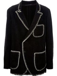 YOHJI YAMAMOTO Stitch Detail Jacket