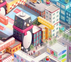 TENCENT: Fast Company on Behance