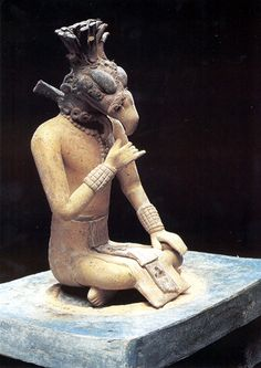 Maya Seated Figurines More