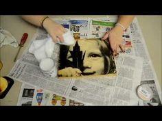 Ahsap Uzerine Fotograf Baskı Tutorial for Wood Prints - YouTube