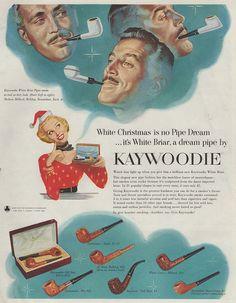 Kaywoodie pipes, 1953