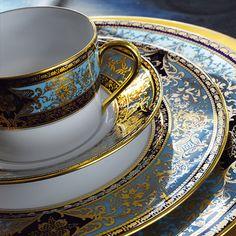 Dinner Set Home Garden Porcelain Luxury Tableware Fine Porcelain, Porcelain Ceramics, Ceramic Art, Cute Tea Cups, Terracotta, Elegant Dinner Party, Elegant Table Settings, Dinner Sets, China Patterns