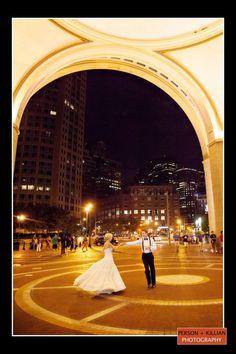 Boston Wedding Photography Event Venues Harbor Hotel Weddings Bridal Party Person Killian Photogra