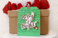 Just ME: merry and bright {mama elephant stamp highlights}