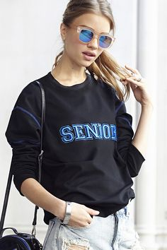 Senior Sweatshirt by #Pencey (http://www.nastygal.com/product/senior-sweatshirt)