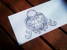Pin Heart Locket Tattoos Page 11 Picture To Pinterest