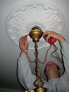 how to rewire an antique light fixture craft ideas pinterest rh pinterest com Household Wiring Light Fixture rewiring a light fixture uk