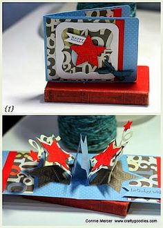 crafty goodies: Try It Tuesday~Pop 'n Cut cards, so fun!!!!!