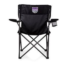 NBA Sacramento Kings 'PTZ' Portable Folding Camp Chair  http://allstarsportsfan.com/product/nba-sacramento-kings-ptz-portable-folding-camp-chair/  Perfect for any outdoor Picnic Use Items Color: Black Decoration: digital print