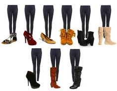 Outfits with Leggings and Boots | Leather Leggings | Fashion Tips on How to Wear Black Shiny Leggings ...
