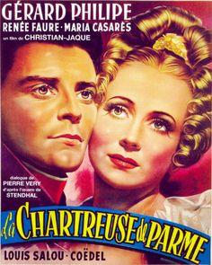 """""""La Chartreuse de Parme"""" - Christian-Jaque  (1947) - Poster"""