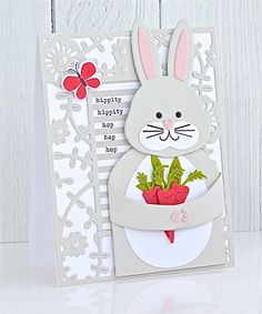 Huggables: Bunny & Chick Mini Stamp Set & Die: Papertrey Ink Clear Stamps Dies P. Diy Scrapbook, Scrapbook Supplies, Scrapbook Layouts, Scrapbooking, Celebration Day, Embossed Cards, Card Tags, Clear Stamps, Anniversary Cards