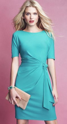 Summer is almost here. Ann Taylor Miracle dress. JUN1014M