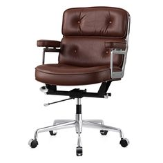 M340 Office Chair In Italian Leather