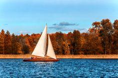 Poland Gizycko lake Niegocin / Polska Mazury Giżycko jezioro Niegocin