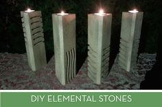 We join Ruby Rhod in declaring this tutorial to make replica elemental stones super green.