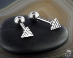 Neo pyramid barbell Tragus, Barbell, Gauges, Belly Button Rings, Accessories, Jewelry, Jewlery, Jewerly, Schmuck