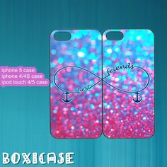 SparkleBest FriendsInfinityiphone 4 caseiphone 5 by Boxicase, $29.95
