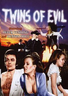 Twins of Evil / Близнецы зла Ghost Movies, Scary Movies, Hammer Horror Films, Hammer Films, Vampire Film, Horror Movie Posters, Film Posters, Foreign Movies, Classic Horror Movies